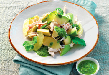 Cook With Us – Chicken & Avocado Salad With Ginger Sauce