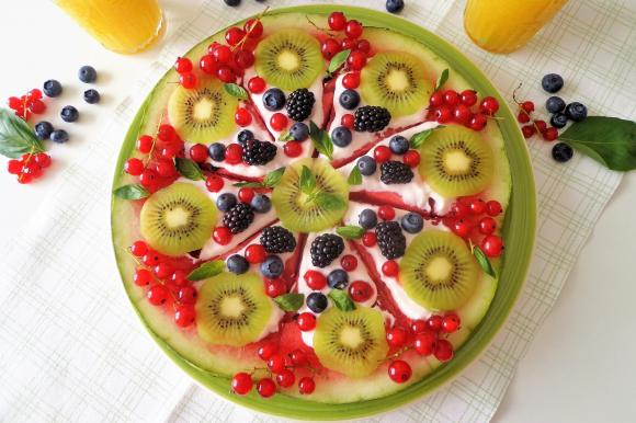 Cook With Us – Watermelon Pizza With Fruit