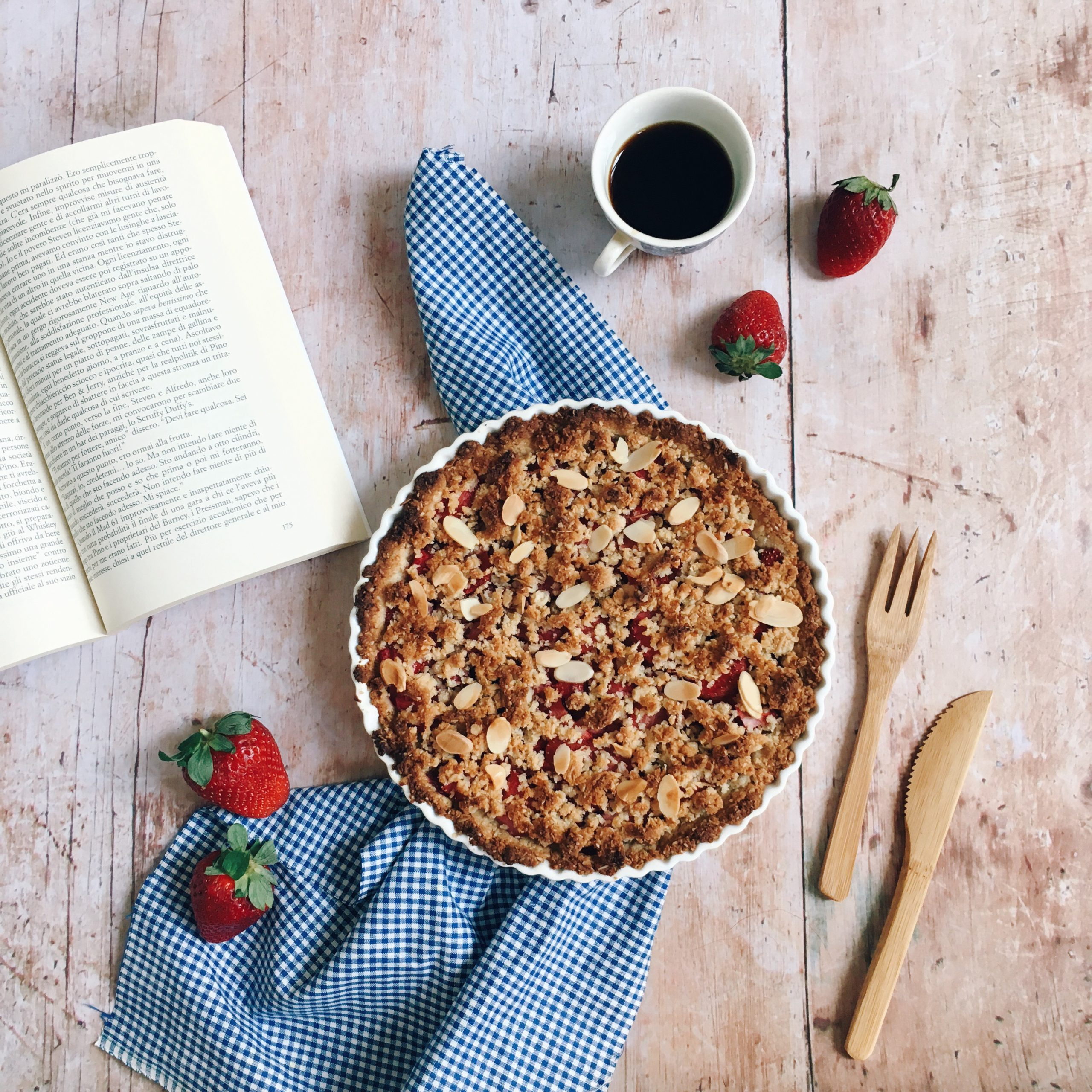 Cook With Us – Strawberries Crumble